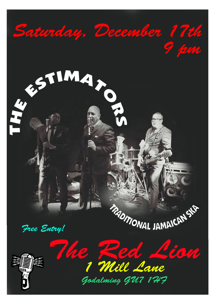 The Estimators @ The Red Lion, 1 Mill Lane, Godalming, Surrey, GU7 1HF - Godalming, United Kingdom