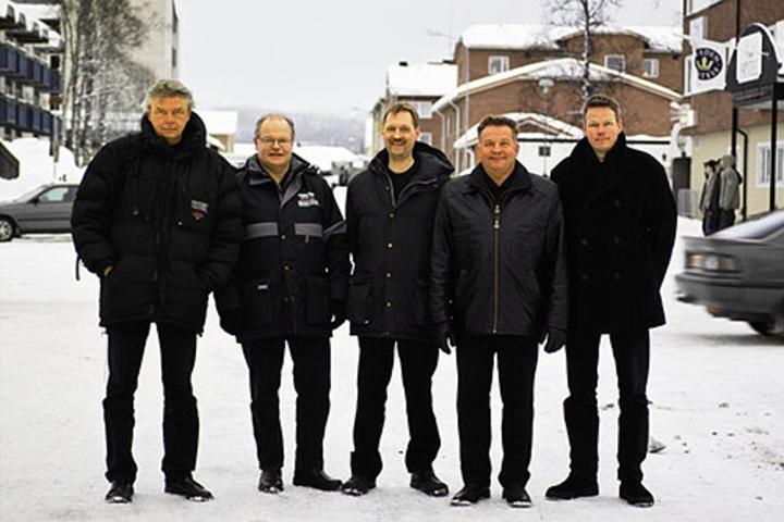 JP Nyströms @ Folkets Hus, Blå Forell - Gällivare, Sweden