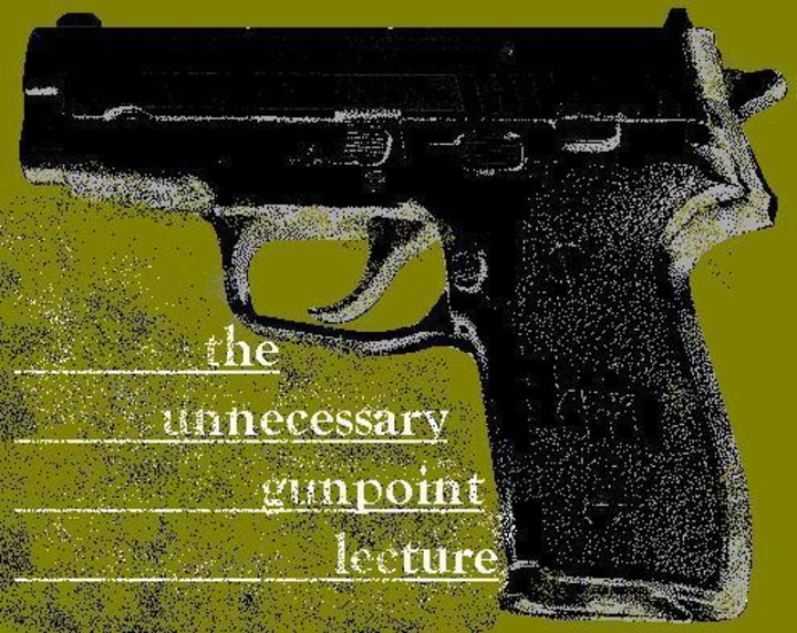 The Unnecessary Gunpoint Lecture Tour Dates