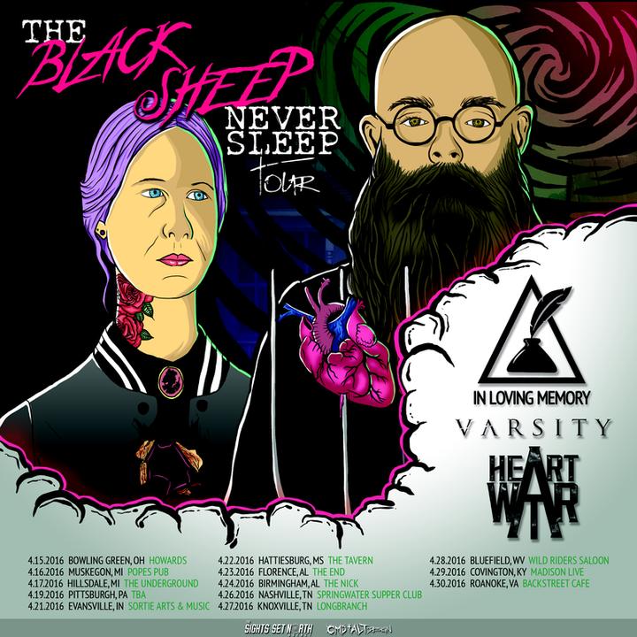 Heart At War Tour Dates