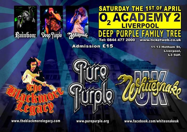Whitesnake UK (the tribute) @ O2 Academy - Liverpool, United Kingdom