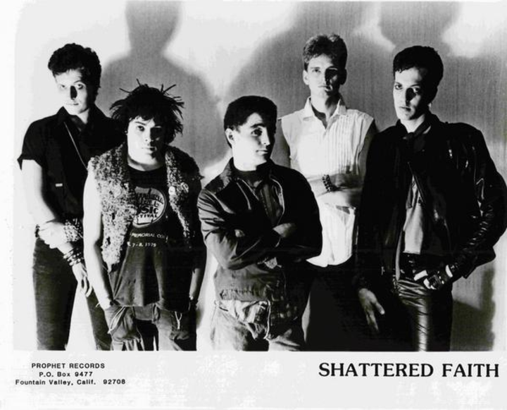 Shattered Faith @ Diego's Rock N Roll Bar & Eats - Santa Ana, CA