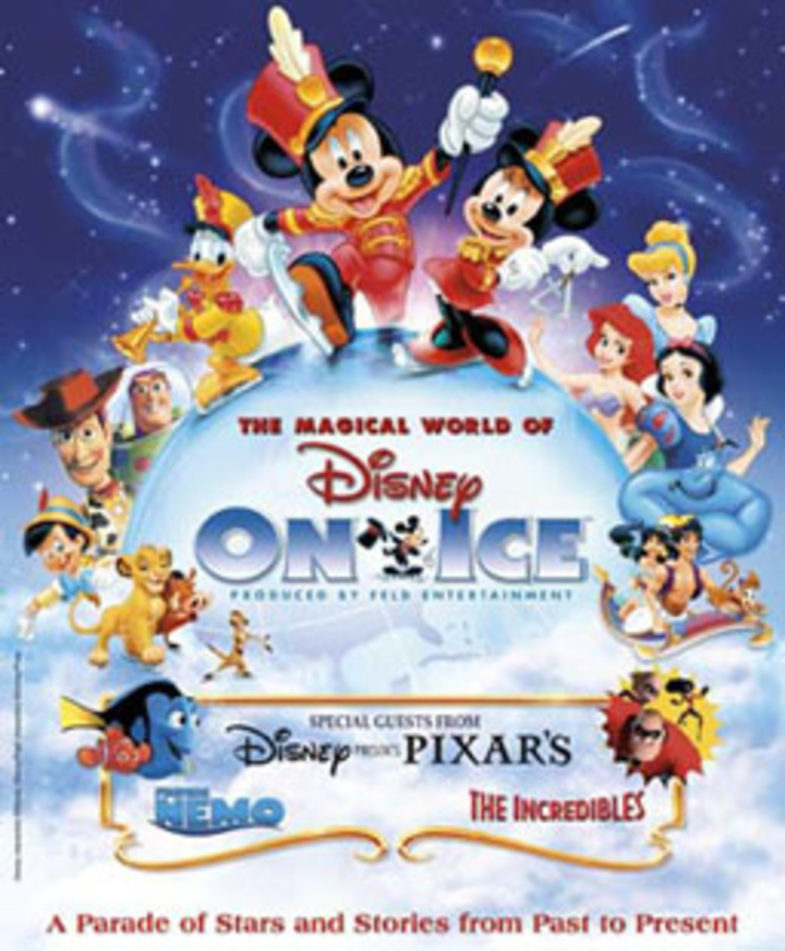 Disney on Ice @ Citizens Business Bank Arena - Ontario, CA