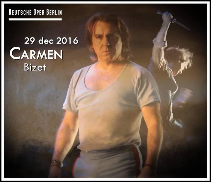 Roberto Alagna @ CARMEN (Deutsche Oper Berlin) - Berlin, Germany