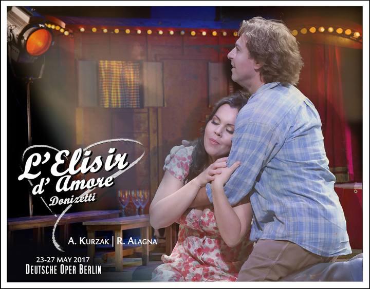 Roberto Alagna @ L'ELISIR D'AMORE (Deutsche Oper Berlin) - Berlin, Germany