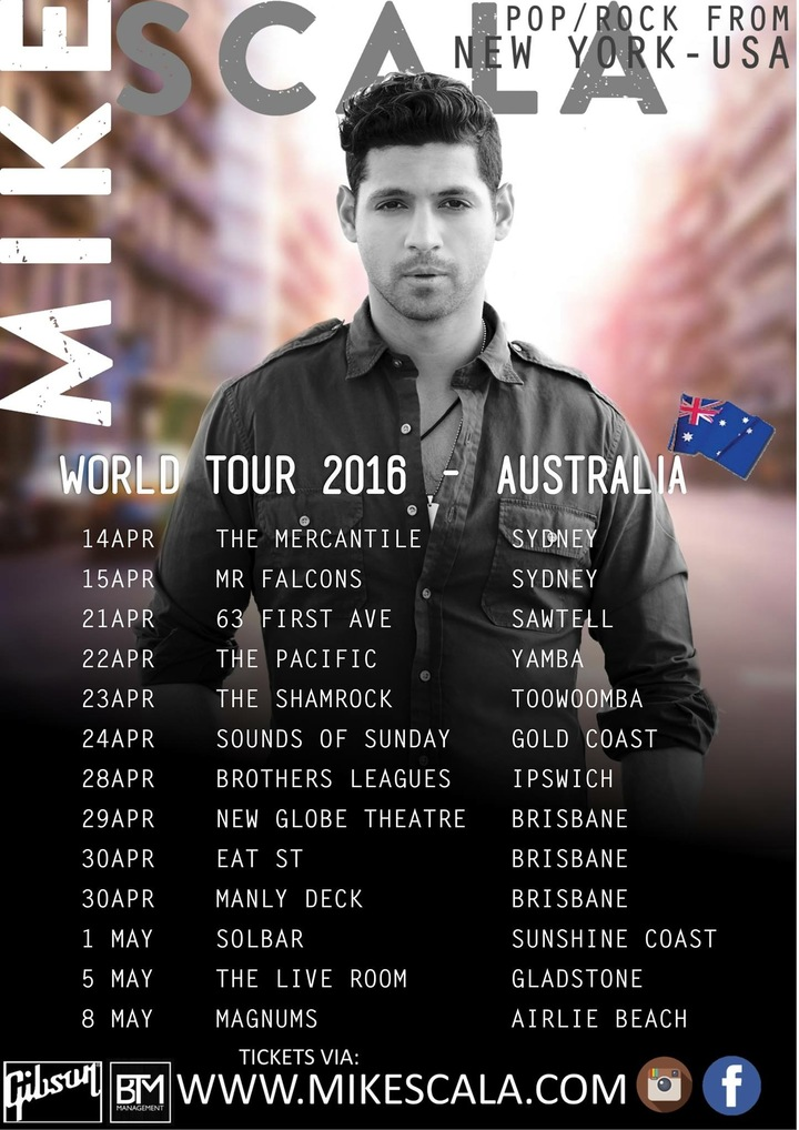 Mike Scala Tour Dates