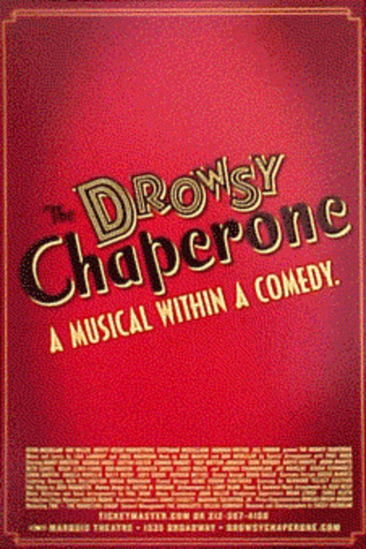 The Drowsy Chaperone Tour Dates