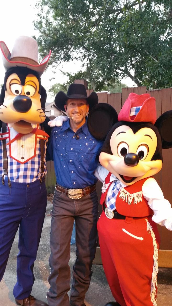 Trevor Dreher @ Mickey's Backyard BBQ Dinner Show at Disney's Fort Wilderness Resort  - Orlando, FL
