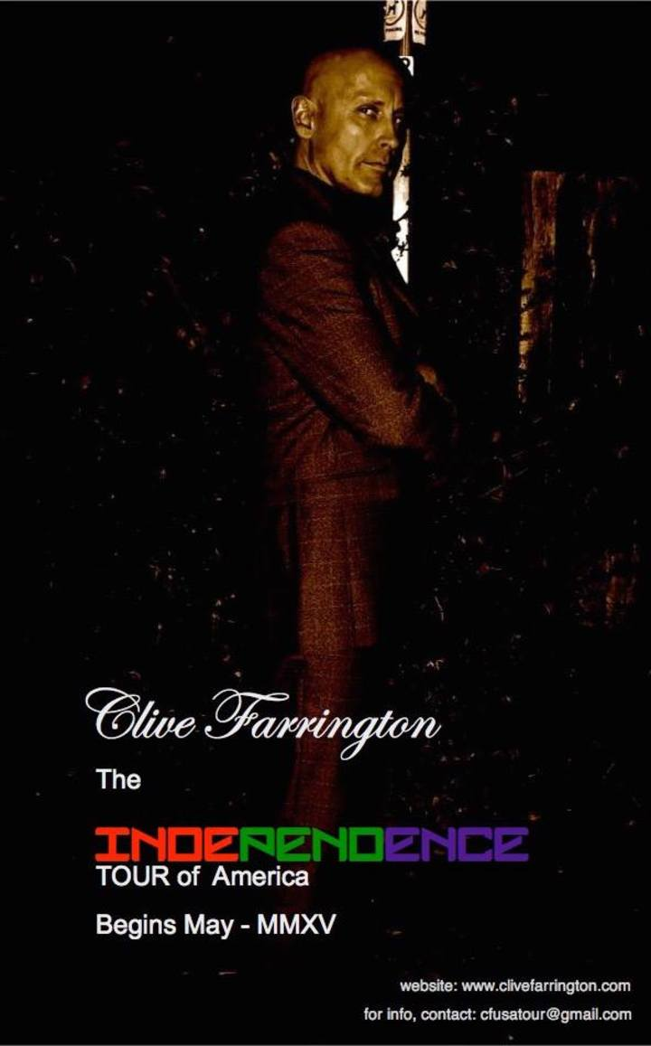 Clive Farrington NO Promises Tour of America Tour Dates