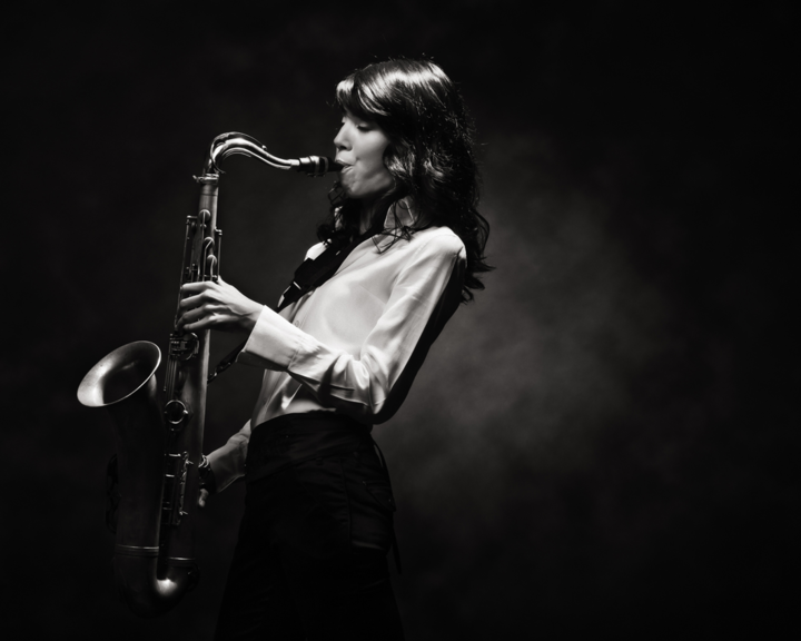 Melissa Aldana @ JazzClub Unterfahrt - Munich, Germany