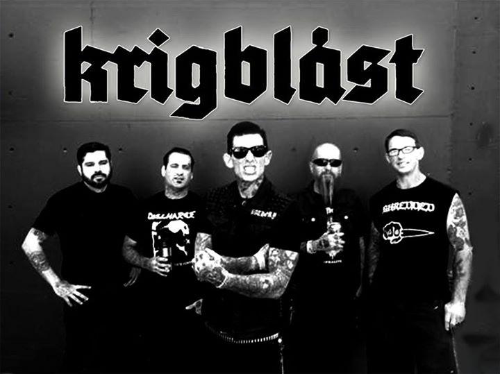Krigblast Tour Dates