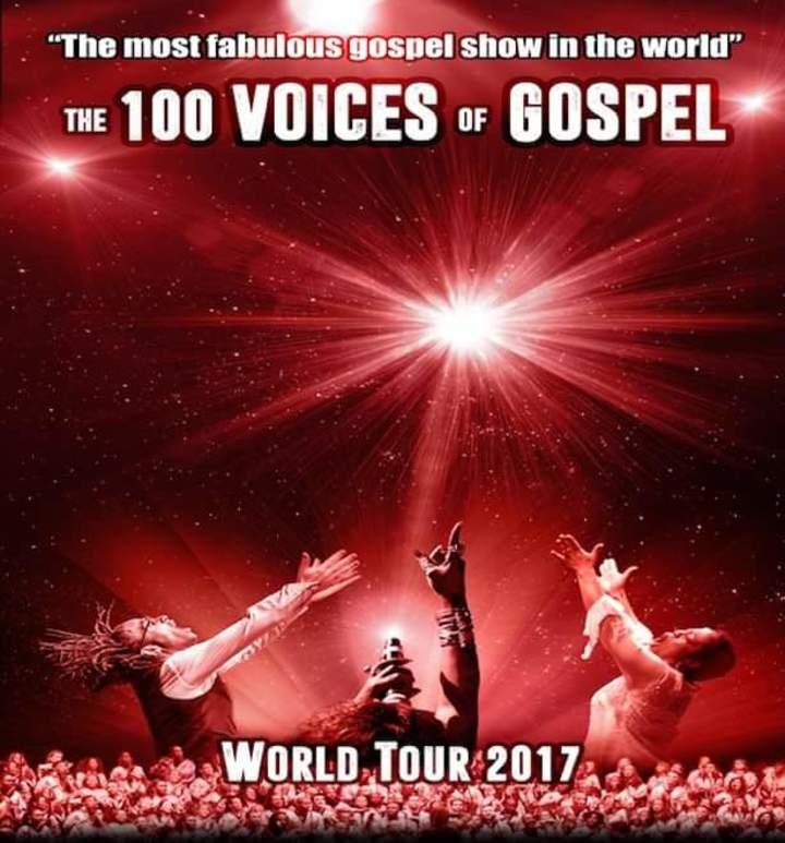The 100 Voices of Gospel - Gospel pour 100 Voix @ Arena De Genève  - Geneva, Switzerland