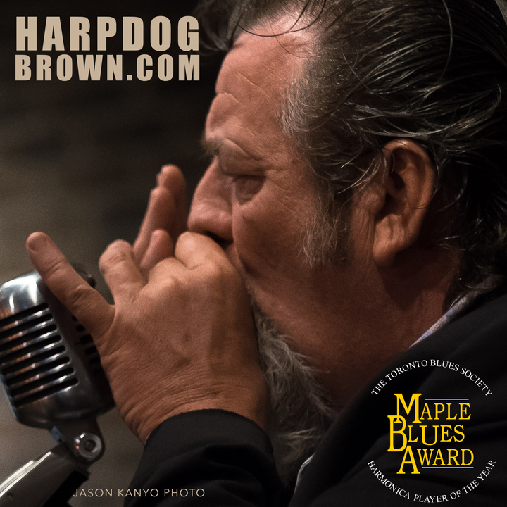 Harpdog Brown @ Engineered Air Theatre, Calgary Centre for the Performing Arts - Calgary, Canada