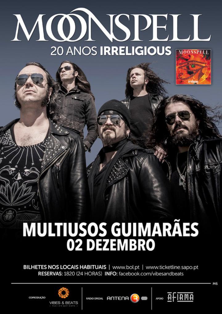 Moonspellofficialband @ Multiusos Guimarães - Guimaraes, Portugal