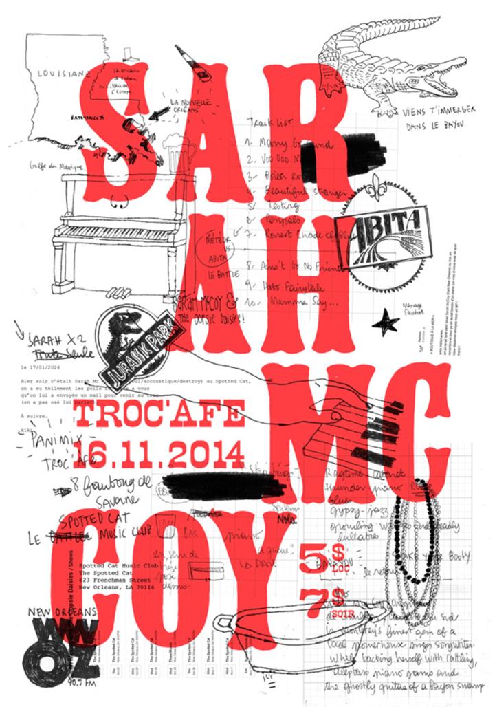 Sarah McCoy Tour Dates