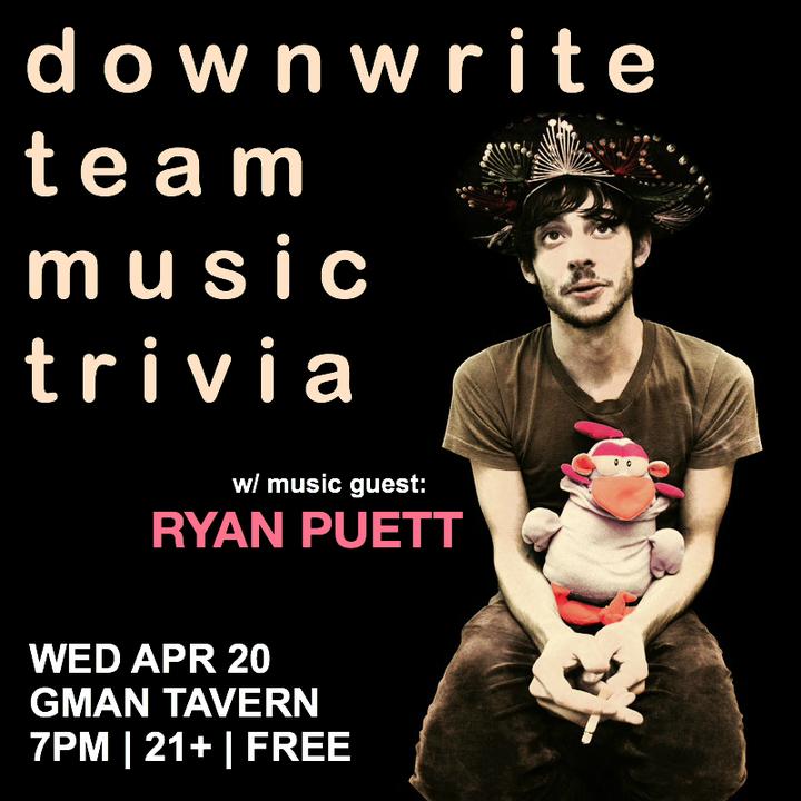 Ryan Puett @ GMan Tavern - Chicago, IL