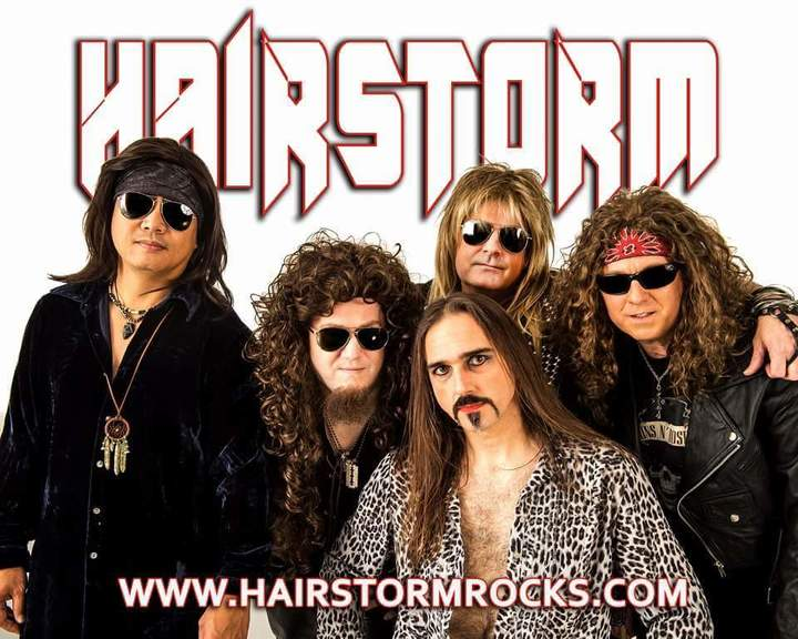 Hairstorm Tour Dates