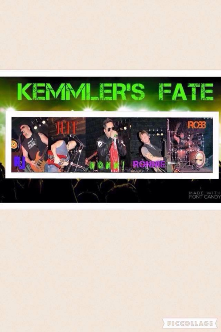 Kemmler's Fate Tour Dates