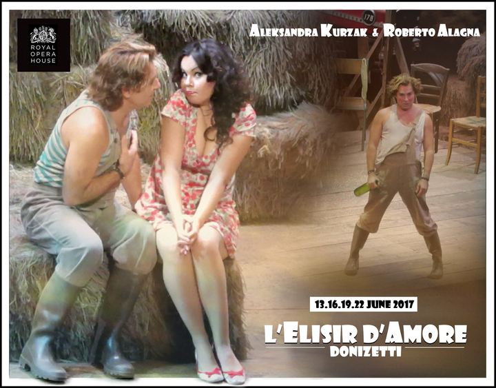 Roberto Alagna @ L'ELISIR D'AMORE (ROH) - London, United Kingdom
