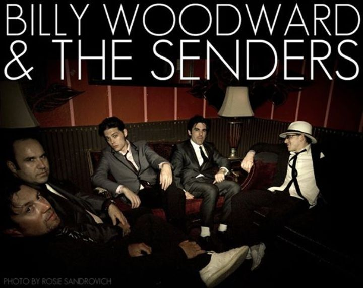 Billy Woodward & The Senders   Tour Dates