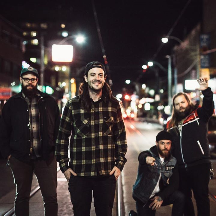 Cancer Bats @ Club One - St. John's, Canada