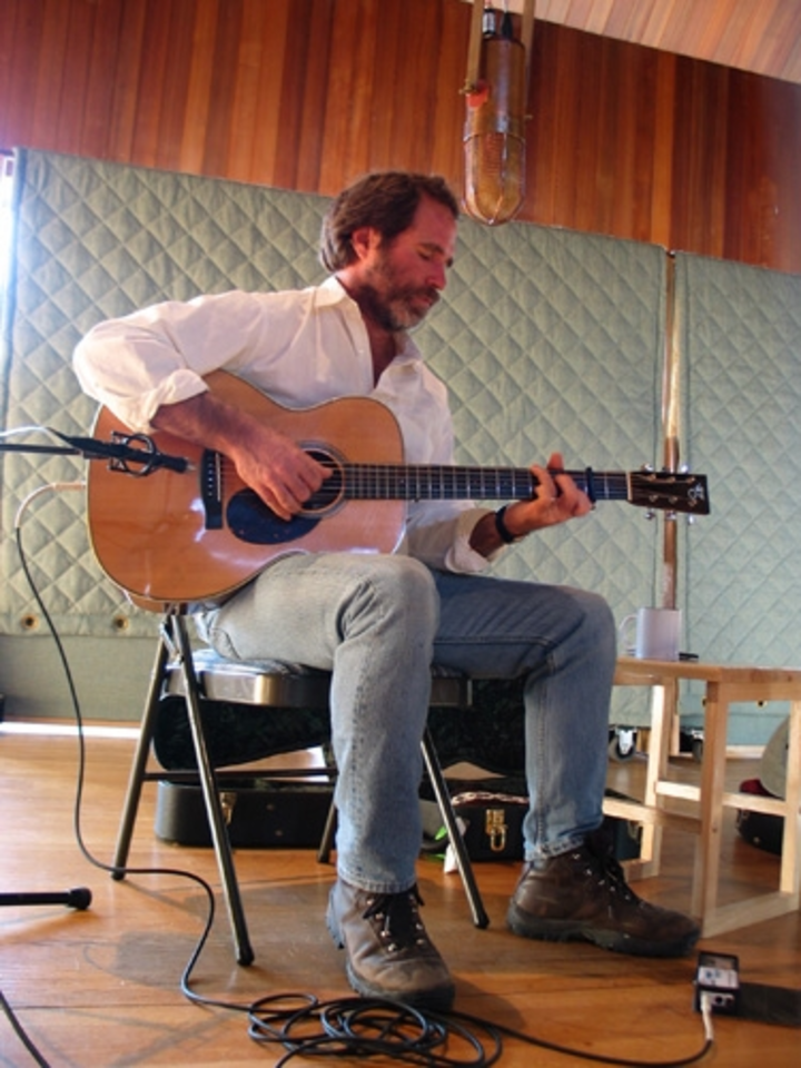 Keith Greeninger @ Rainshadow Recording Studio - Port Townsend, WA