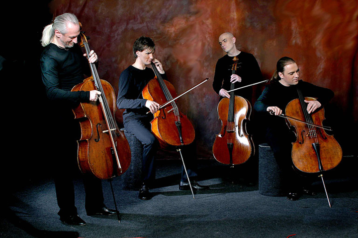 Rastrelli Cello Quartett @ Ev. Moritzkirche - Chemnitz, Germany