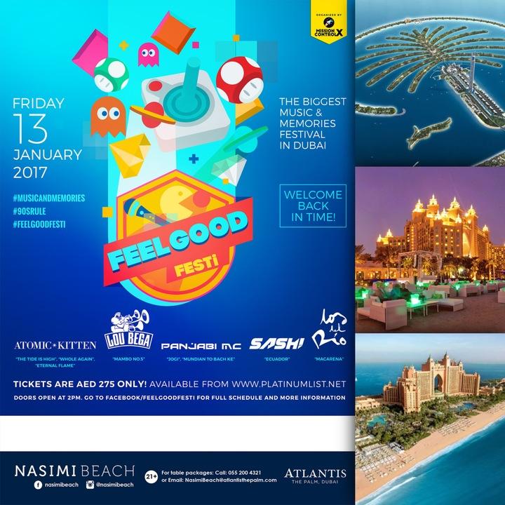 DJ Sash @ Nasimi Beach (Atlantis Hotel) - Dubai, United Arab Emirates