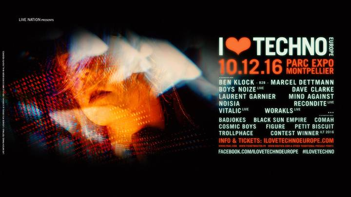 LES SOIRÉES DU SUD @ I Love Techno Festival 2016 - Montpellier, France