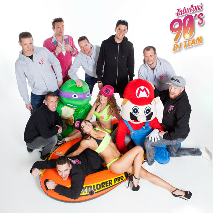 Fabulous 90's DJ Team Tour Dates