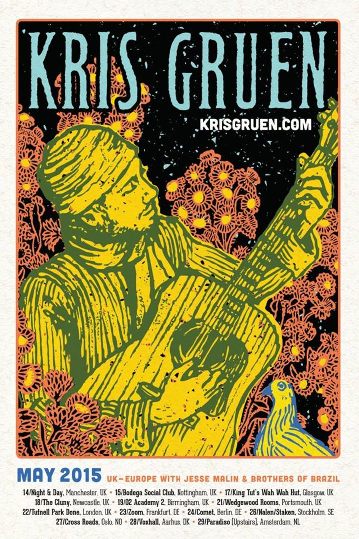Kris Gruen Tour Dates