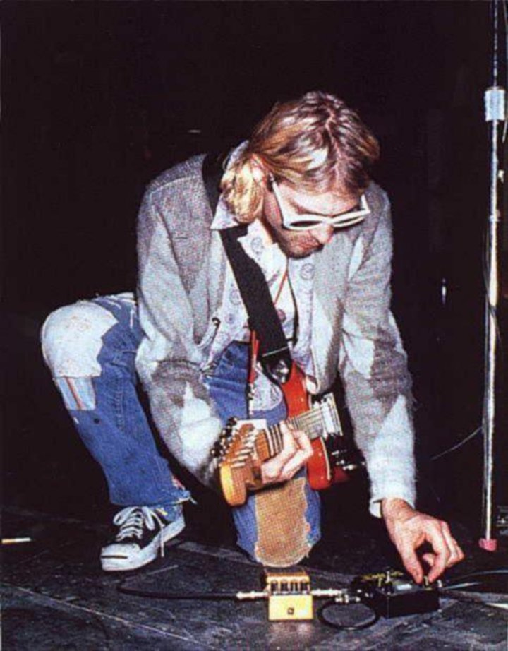 The Worst Crime is faking it - Kurt Donald Cobain Tour Dates