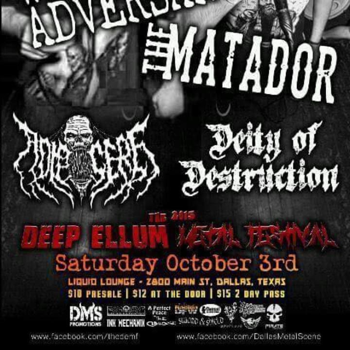 Adipocere Tour Dates