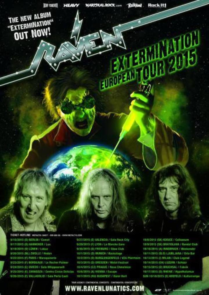 Raven Tour Dates