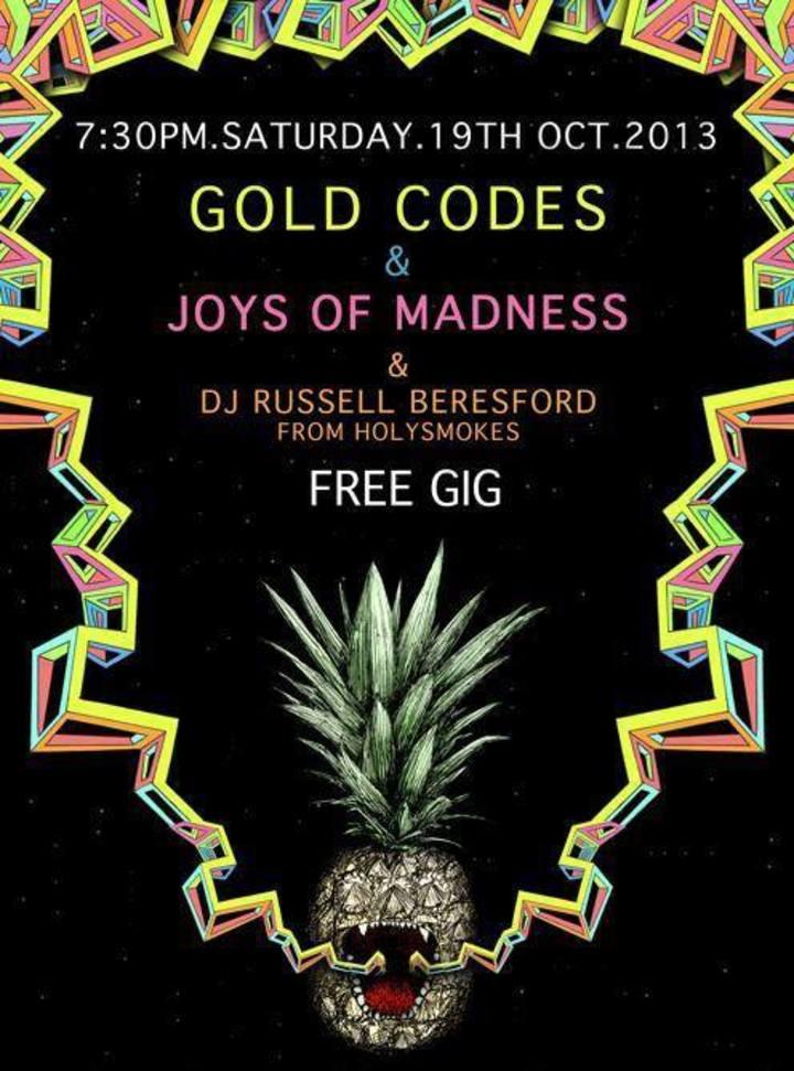 Joys Of Madness Tour Dates