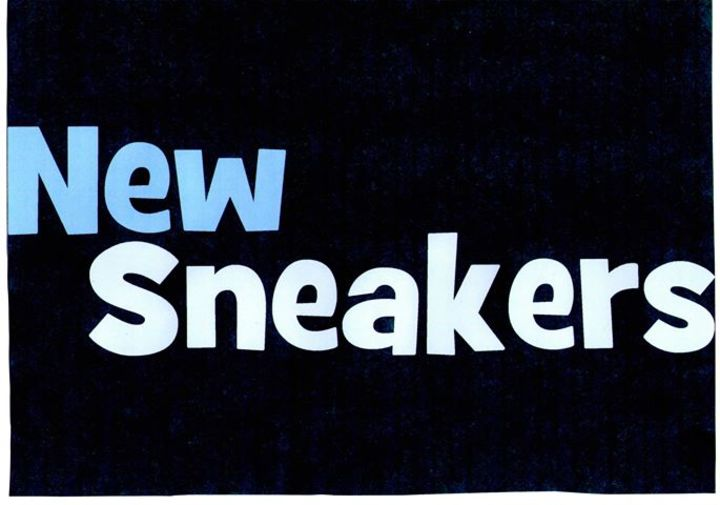 New Sneakers Tour Dates