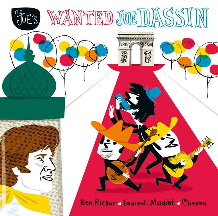 Wanted Joe Dassin @ LE SILLON - Petit Couronne, France