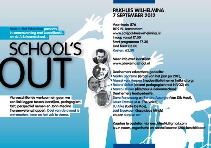 School's Out Tour Dates