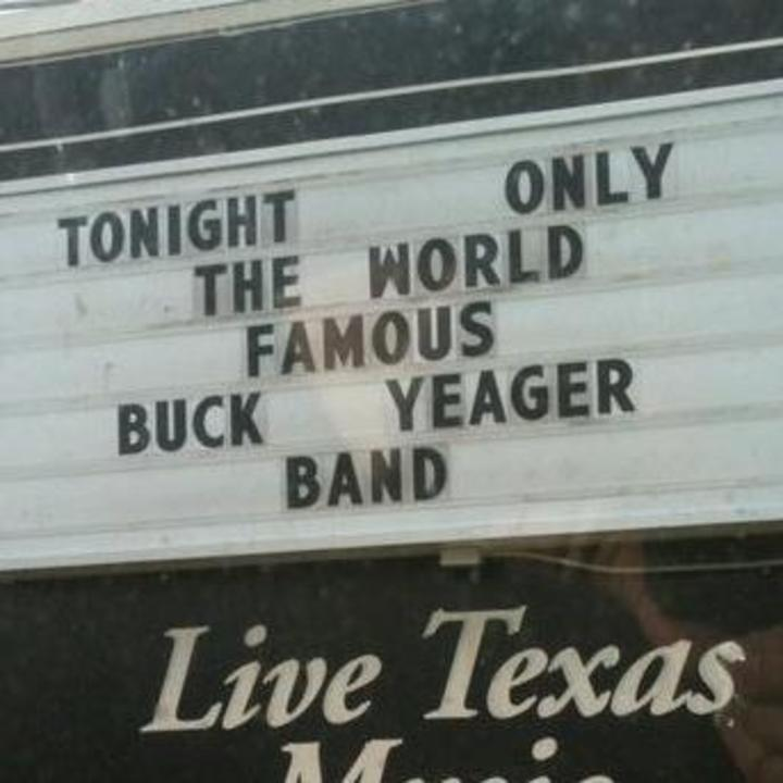 Buck Yeager Band Tour Dates