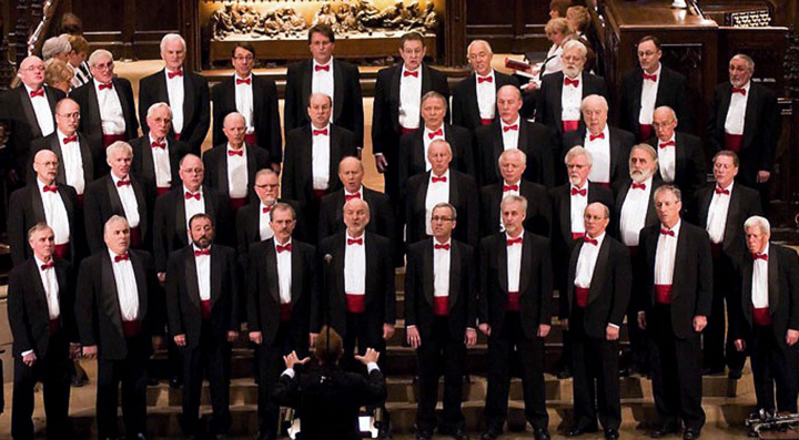 Toronto Welsh Male Voice Choir @ St. Paul's United Church - Midland, Canada