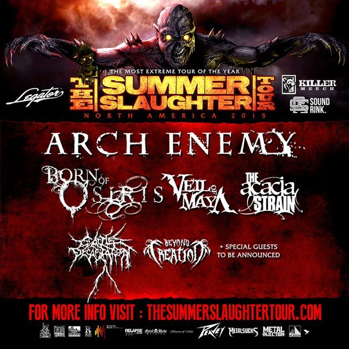 Summer Slaughter Tour @ Hawthorne Theatre - Portland, OR