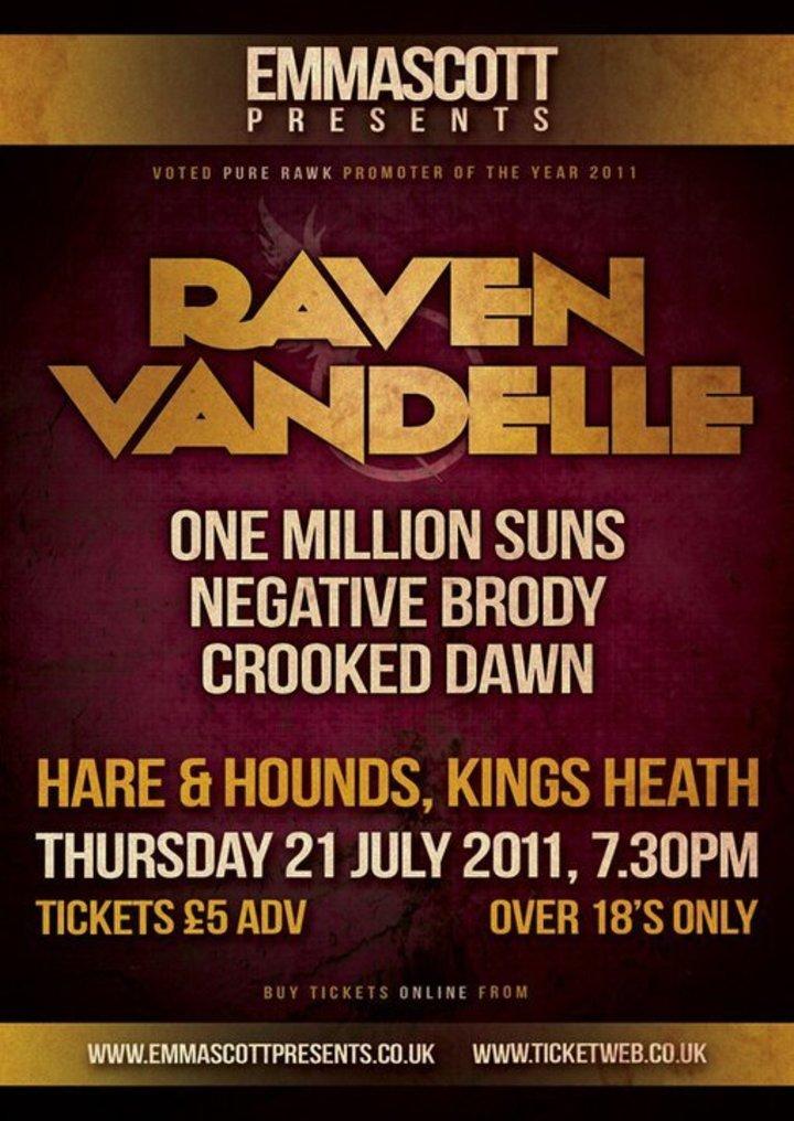 One Million Suns Tour Dates
