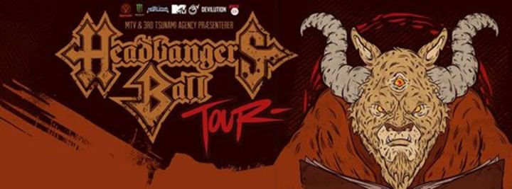 HEADBANGERS BALL TOUR Tour Dates