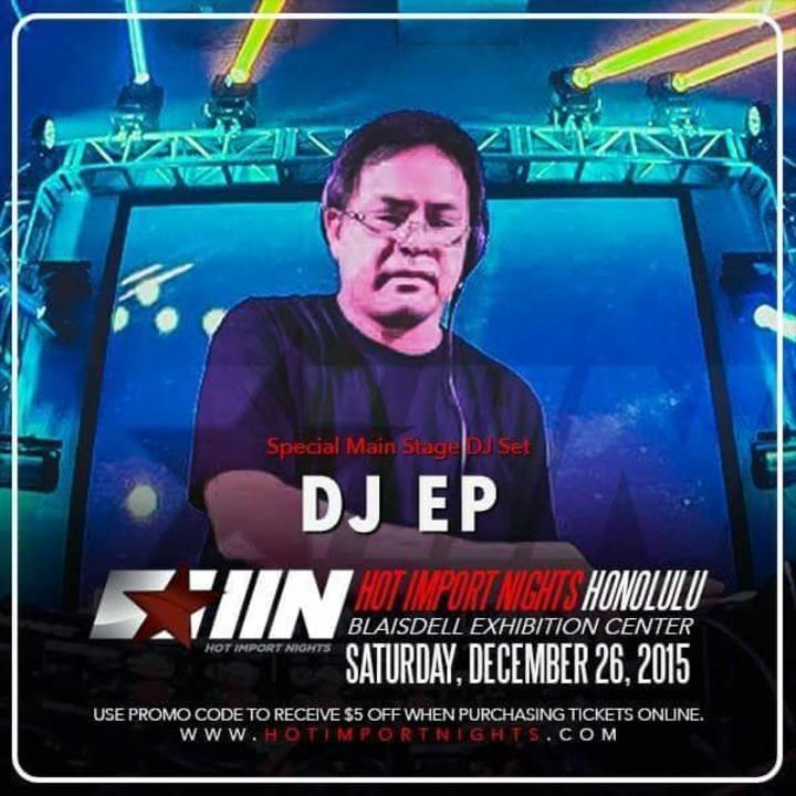 DJ EP OFFICIAL FAN PAGE Tour Dates