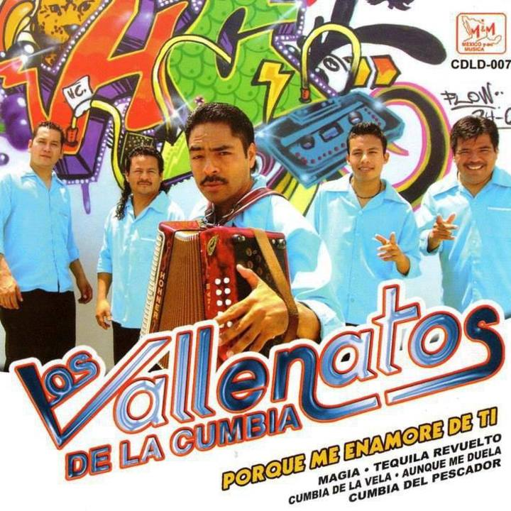 los vallenatos de la cumbia Tour Dates