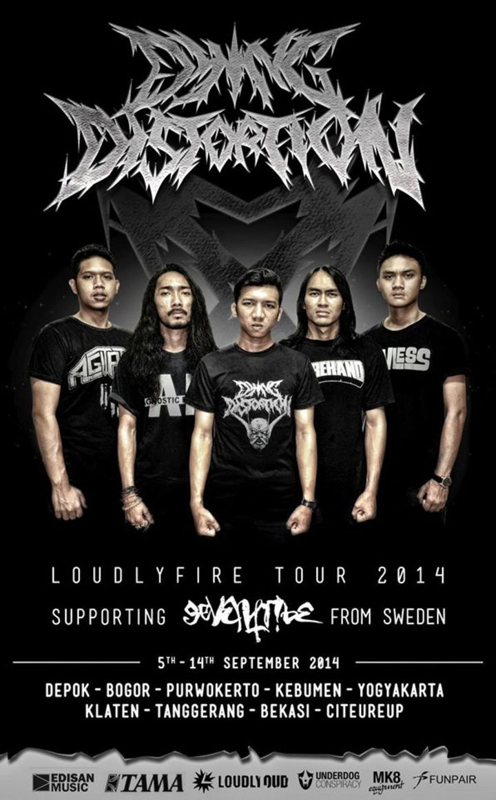 Dying Distortion(OFFICIAL) Tour Dates