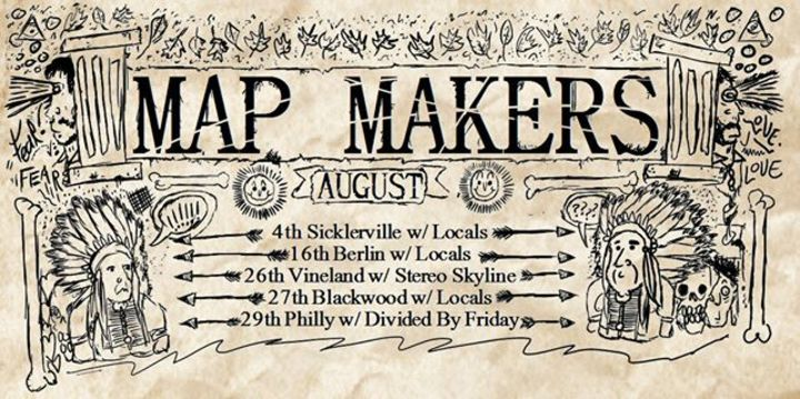 Map Makers Tour Dates