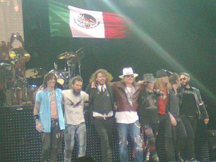 Fans Club Guns N' Roses México Tour Dates