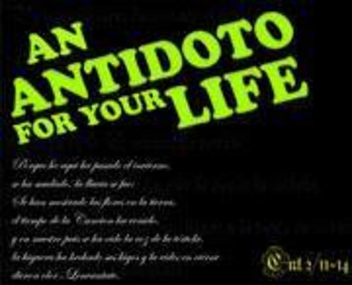 Antidoto Tour Dates
