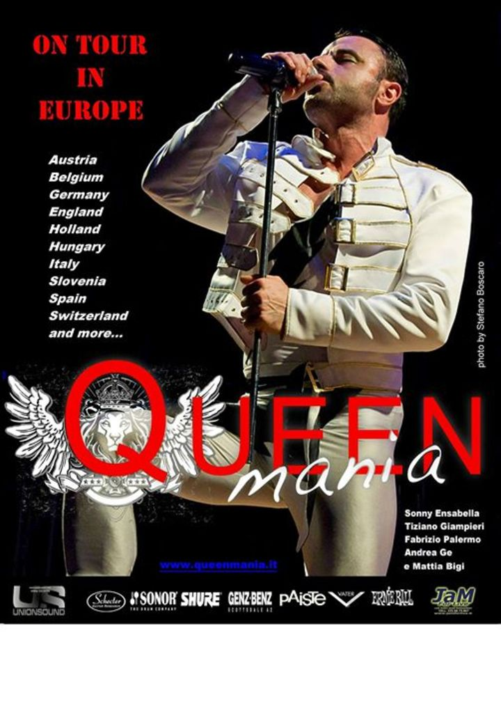 QUEENMANIA Tour Dates